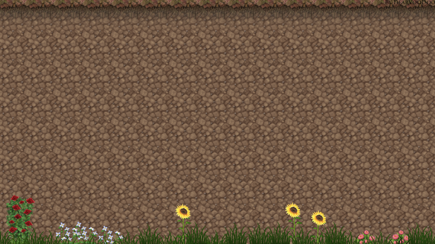 Simple-garden-wallp by DearVooDoo