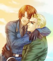 APH: A Cute Couple by xiaoyugaara