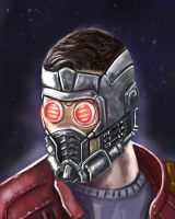 Star-Lord Guardians of the Galaxy by mark1up