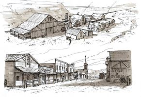 Western Town by RyanLovelock