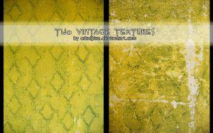 Two vintage textures by ElaRaczyk
