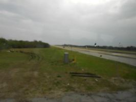 The Gravel Road that the Space Shuttle Rides on by OceanRailroader