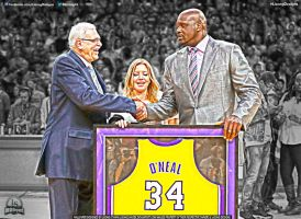 Shaq Jersey Retirement by lisong24kobe