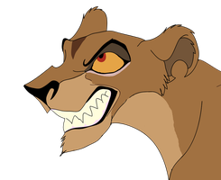 angry zira by coolrat