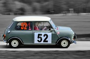Mini Cooper in Grey by Willie-J