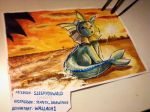 Vaporeon Fan art by Wallach1