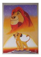 Mufasa and Simba by ARTIEFISHEL79