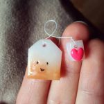 little tea bag magnet by Kaerlyn