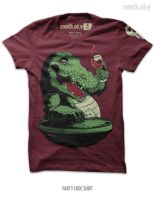 Party Croc Shirt by seventhfury