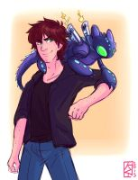 Bot fighter! Hiccup by KT-ExReplica