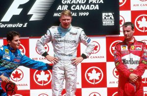 1999 Canadian Grand Prix Podium by F1-history