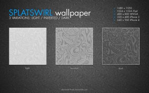 Splatswirl Wallpaper by AlexanderLoginov