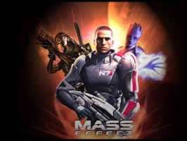 Mass Effect Wallpaper by Cre5po