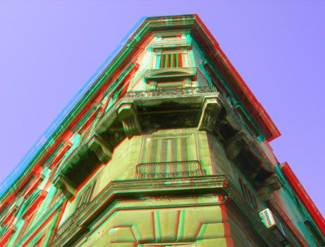Rome 21 3D Anaglyph by yellowishhaze