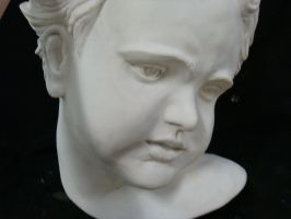 Sculpture Baby Head by granet