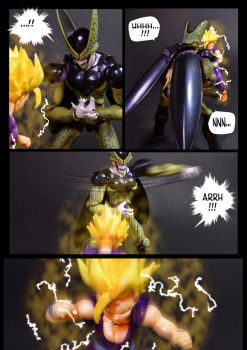 Cell vs Gohan Part 3 - p7 by SUnicron