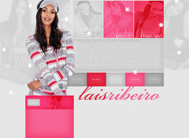 free layout ft. Lais Ribeiro by mmmystery