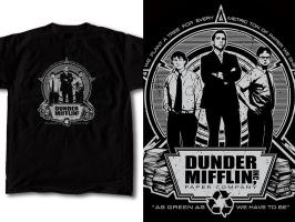 T-Shirt Design The Office 01 by RobDuenas
