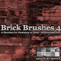 Brick Brushes 4 by AscendedArts
