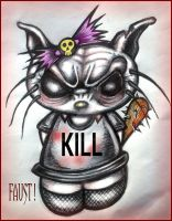 HELL KITTY by FAUST by FAUST76
