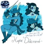 Gemsona - Hope Diamond by JulieKarbon