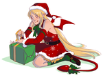 Christmas Flonne by yinza