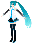 mesh and textures finished by miku-chan-love