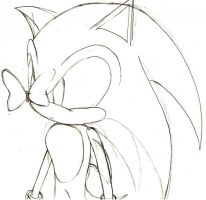 Sonic scribble take two by Lady-Of-Ice-Chaos