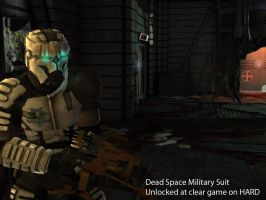 Dead Space Military suit shot by Emersonpriest
