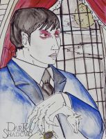 Barnabas Collins Portrait by hecatescrossroads