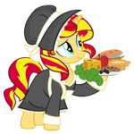 Pilgrim Sunset Shimmer by PixelKitties