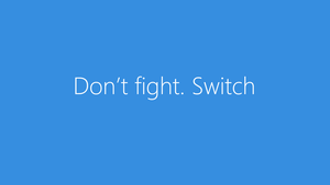 Don't fight. Switch to Nokia LUMIA 920 by NoFearl