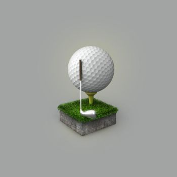 Golf icon by AndexDesign