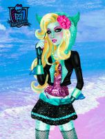 Monster High  - Lagoona Blue by kharis-art
