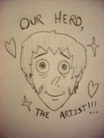 Our Hero, The Artist by NoDancing