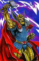 Thor Circa 1987 by olybear