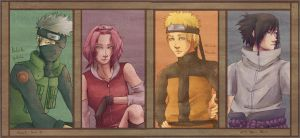 Naruto - Team 7 by eris212