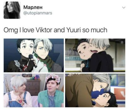 Man I love Victuuri so much by naturemiku