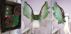 Steampunk Tinkerbell Wings by Lillyxandra