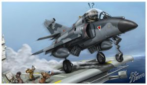 Cartoon Super Etendard by 14-bis