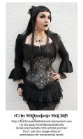 Gothic Lady Stock 003 by MADmoiselleMeliStock