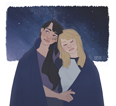 [Request] Abby and Karla by Qursidae