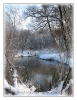 Winter River_4 by RandomSearcher