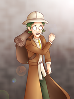 Crazy Professor Guy by Pictronzia