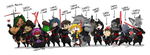 SQUEEK's SITH Line Up 11 by ShoNuff44