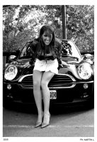 Me n the mini cooper 3 by chikaex0tica