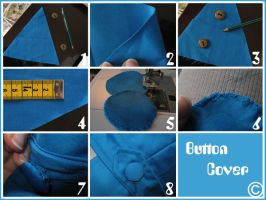 Button Cover Tutorial by Samantta