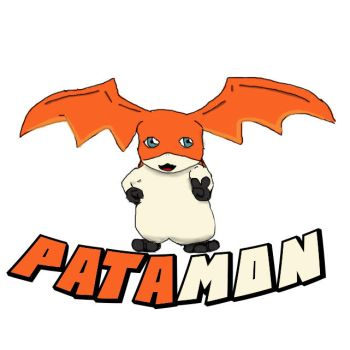 Patamon by Uponadrawing