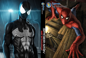 Spider-Man Web of Shadows individual cover by icekid98