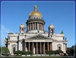Saint Isaac's Cathedral by maska13